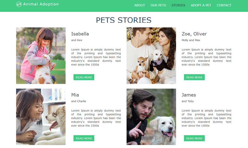 animal-adoption-bootstrap-theme