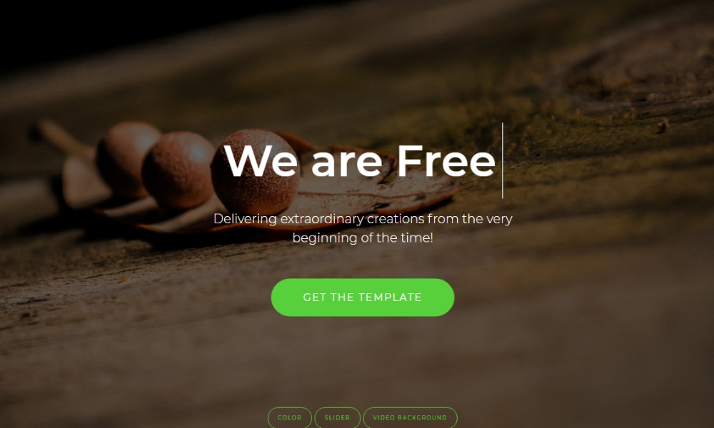 Free Bootstrap Theme - AweSplash
