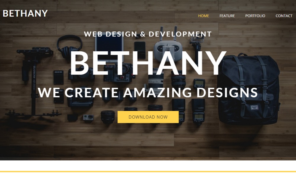 Bethany Free Bootstrap Theme