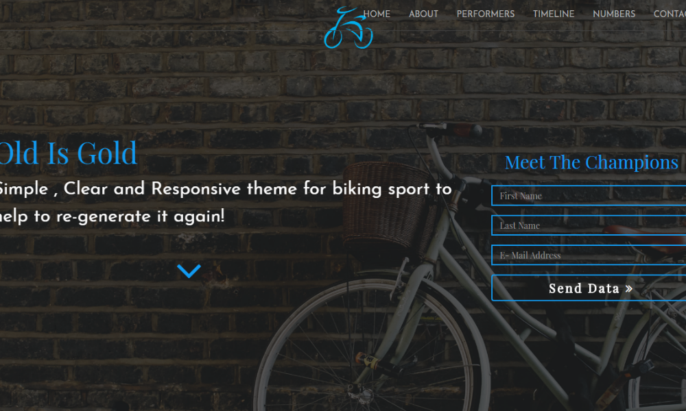 bicycle-bootstrap-theme