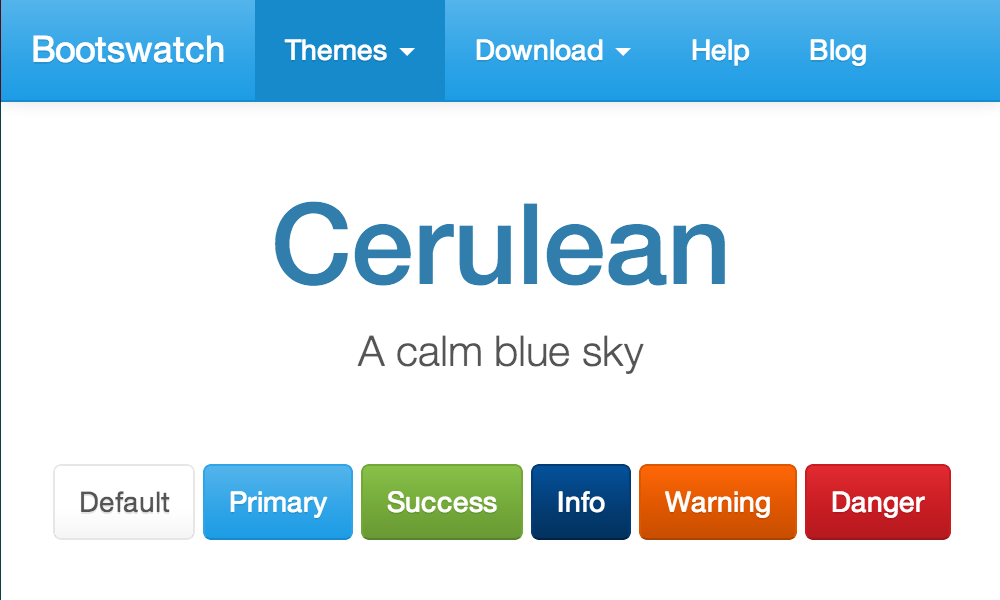 Free Bootstrap Theme - Cerulean