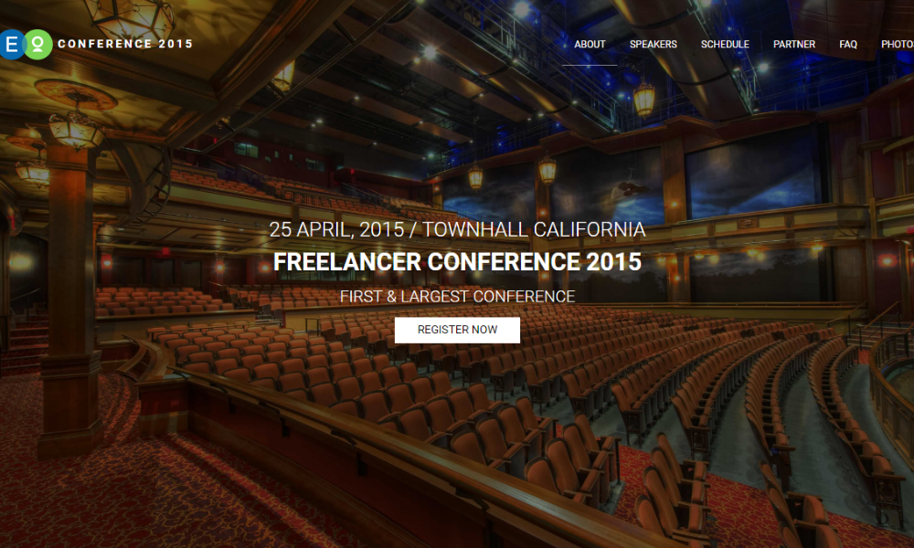 Conference Lite Free Bootstrap Theme