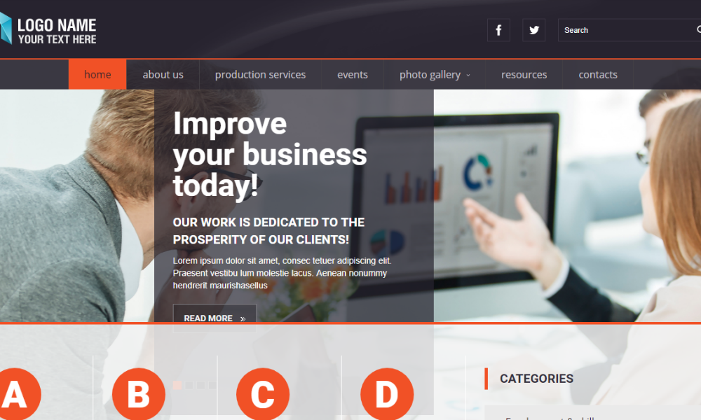 Corporate Free Bootstrap Theme