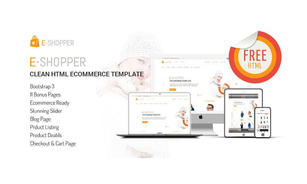 E-Shopper Free Bootstrap Theme