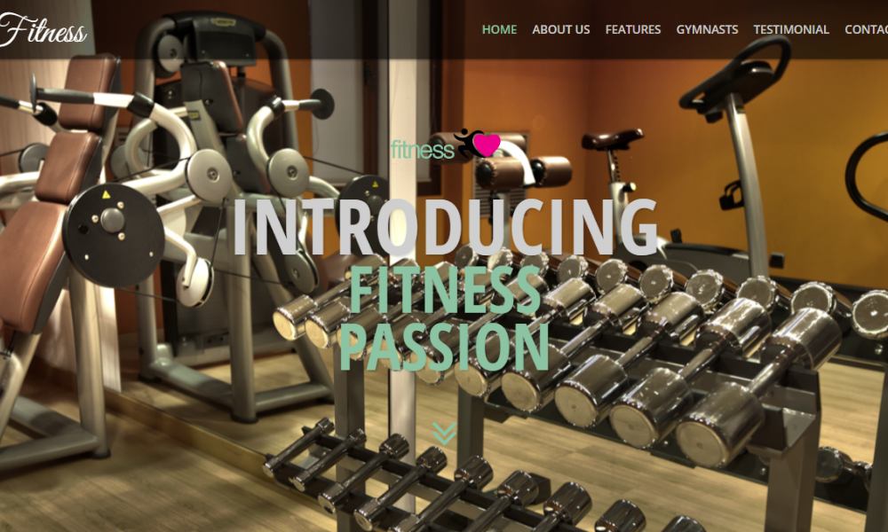 Fitness Free Bootstrap Theme
