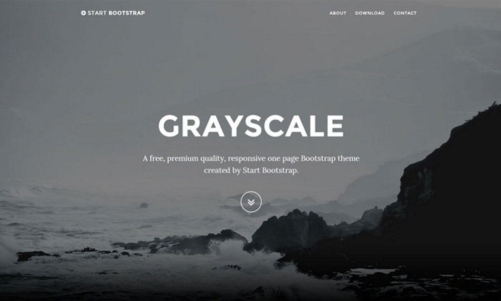 grayscale-bootstrap-theme
