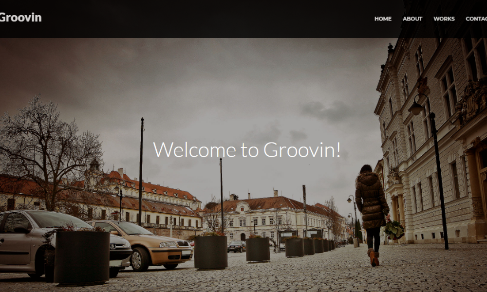 Groovin Free Bootstrap Theme