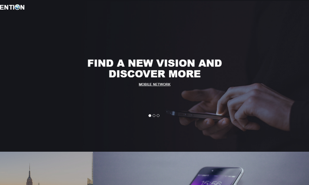 Invention Free Bootstrap Theme