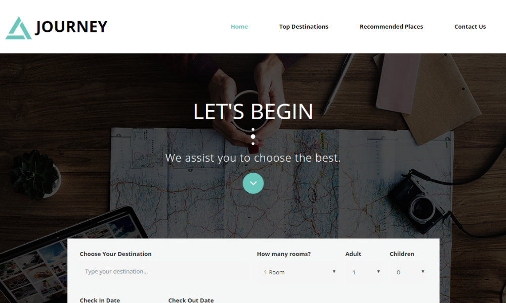 Journey Bootstrap Theme