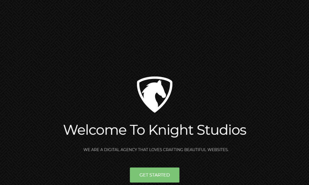 Free Bootstrap Theme - Knight