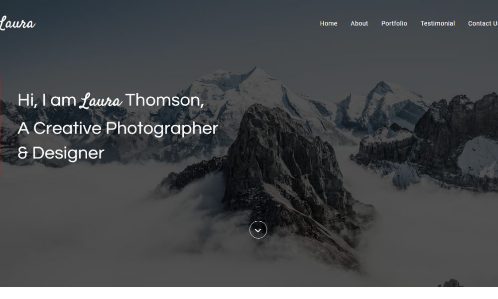 Free Bootstrap Theme - Laura