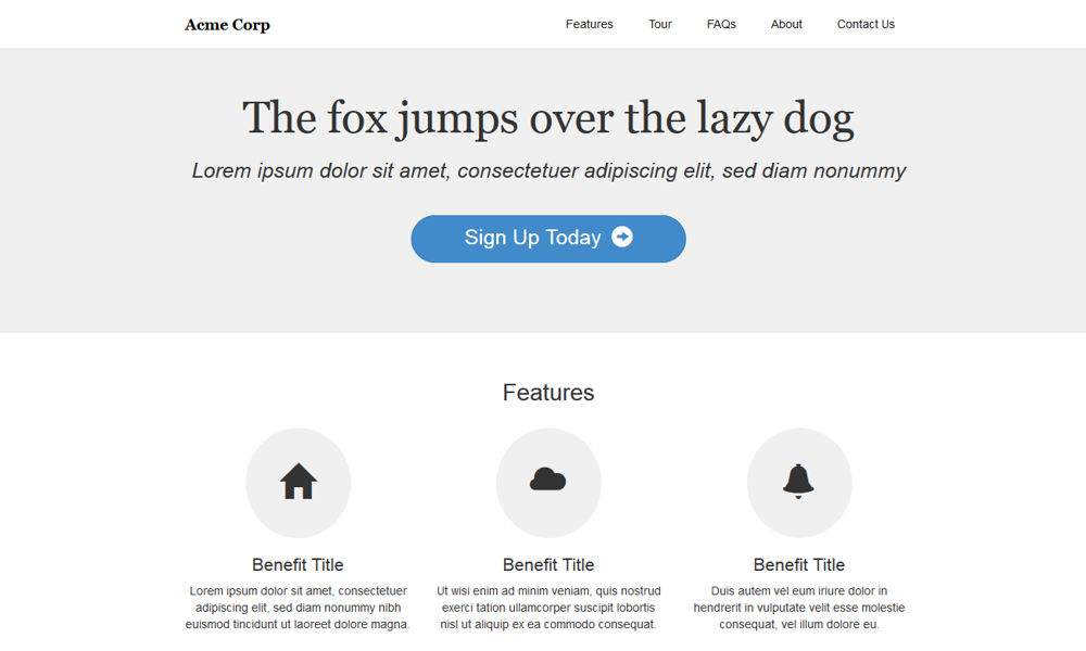 Lighter Free Bootstrap Theme