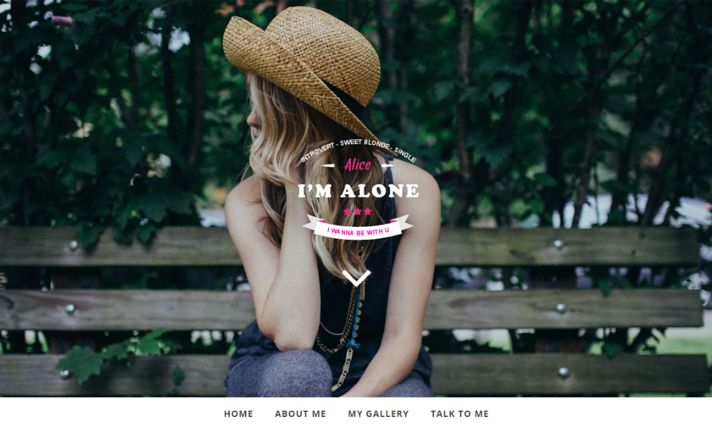 Free Bootstrap Theme - Lonely