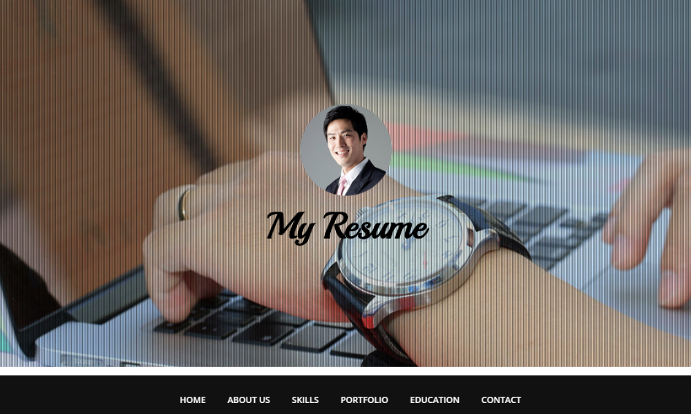 Free Bootstrap Theme - My Resume