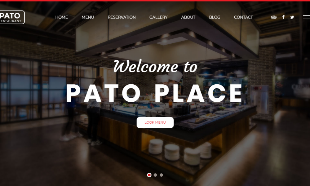 Free Bootstrap Theme - Pato Place
