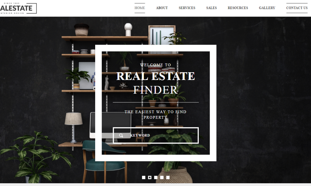 Free Bootstrap Theme - Real Estate