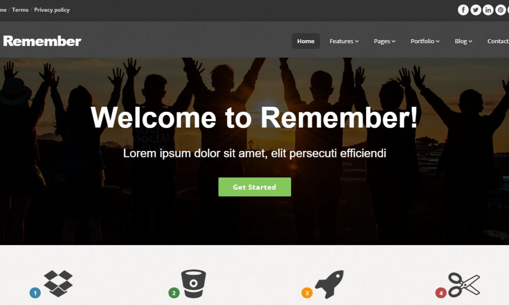 remember-bootstrap-theme