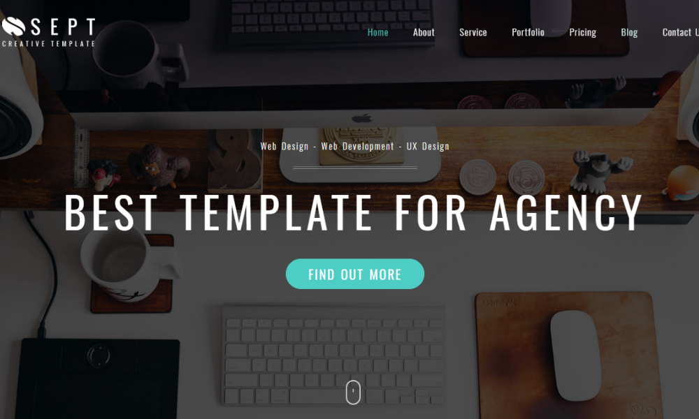 Sept Free Bootstrap Theme