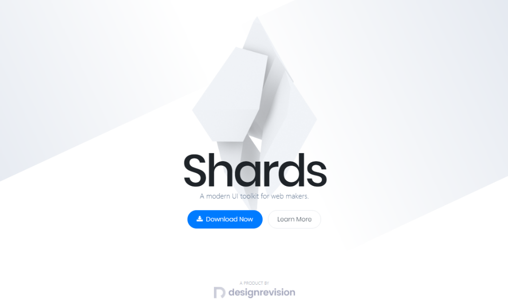 Shards Master Free Bootstrap Theme