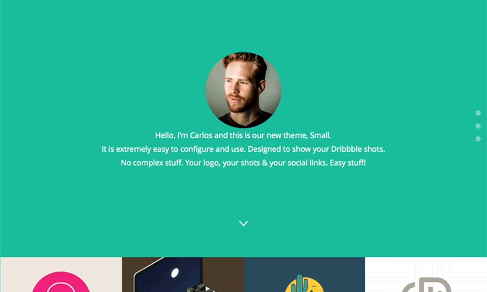 Small Free Bootstrap Theme