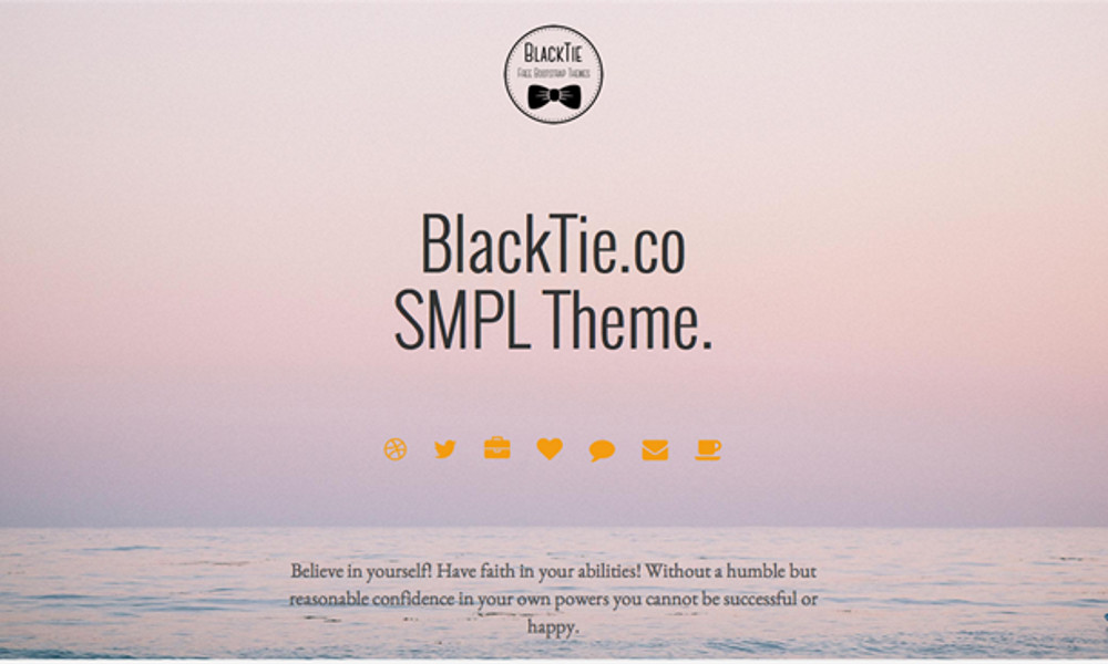 Free Bootstrap Theme - SMPL