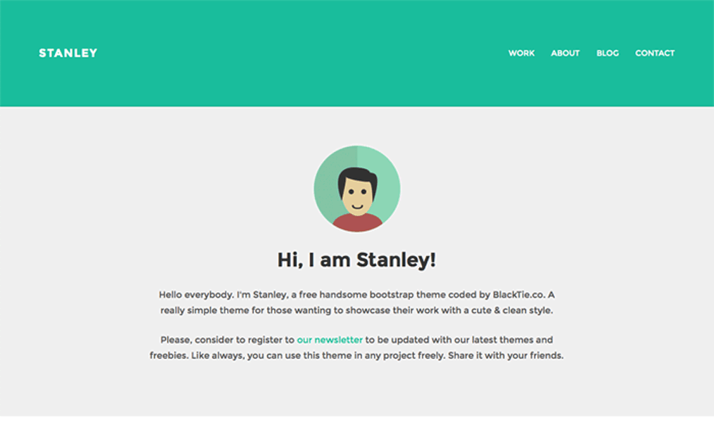 stanley-bootstrap-theme