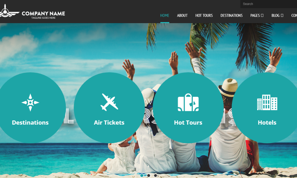 travelagency-bootstrap-theme