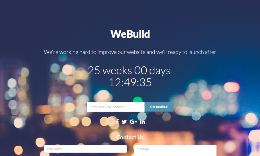 Free Bootstrap Theme - We Build