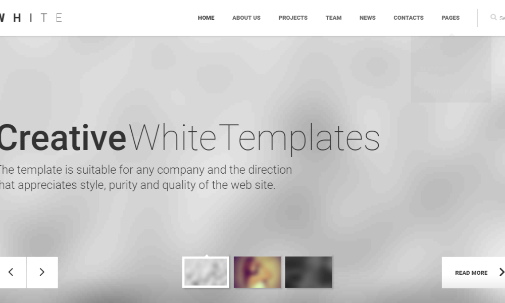 white-bootstrap-theme