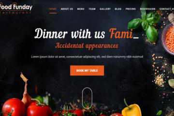 food-funday-bootstrap-theme