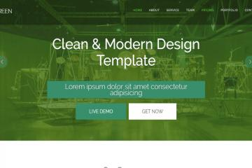 green-bootstrap-theme
