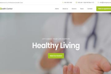 health-bootstrap-theme