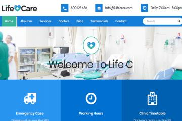 life-care-bootstrap-theme