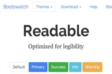 readable-bootstrap-theme