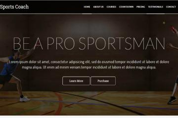 sports-coach-bootstrap-theme