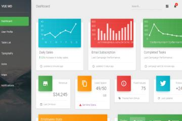 vuematerialdashboard-bootstrap-theme