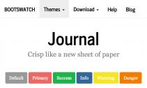 journal-bootstrap-theme